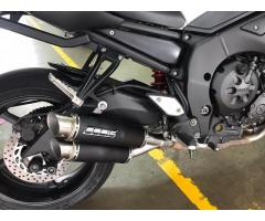 Yamaha FZ1N Bodis GPX2 Stainless Steel Black exhaust