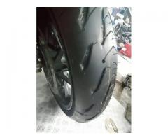 Honda Crossrunner Michelin Road 5 120/70-17 & 180/55-17
