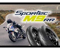 Metzeler Sportec M9RR 120/70-17 + 160/60-17 $370 MM96