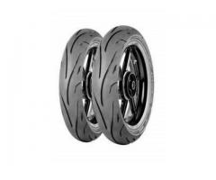 Zeneos tyres for Honda CB400X and NC750X
